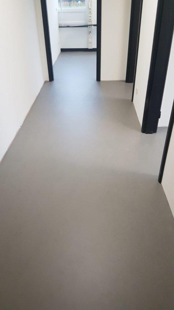 marmoleum vloer plaatsen